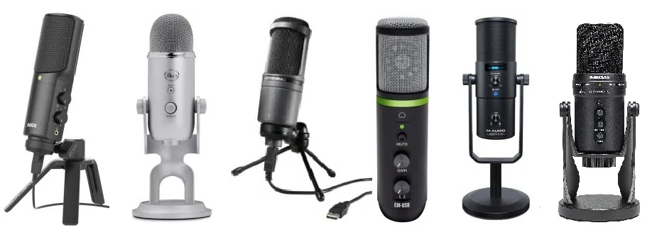 A collection of the best USB mics for an under 200 dollar budget