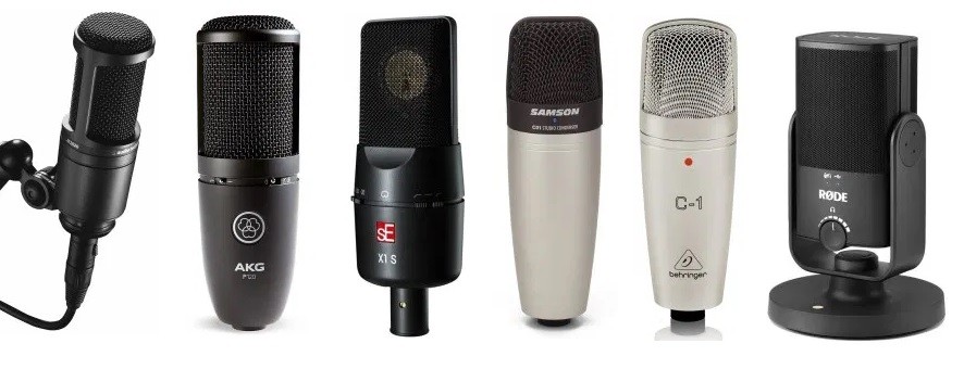 A review on the top condenser microphones for an under $100 budget