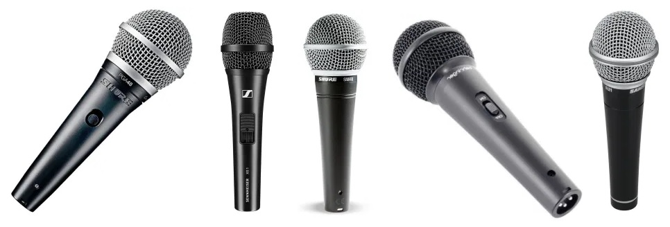 Our list of the best dynamic mic for 50 dollars or less