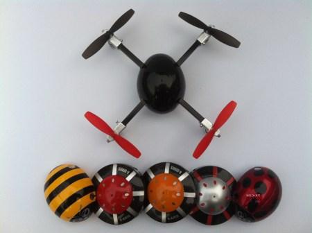 micro drone shells