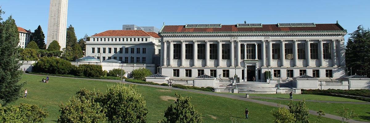 Photo of UC Berkeley Campus buildings