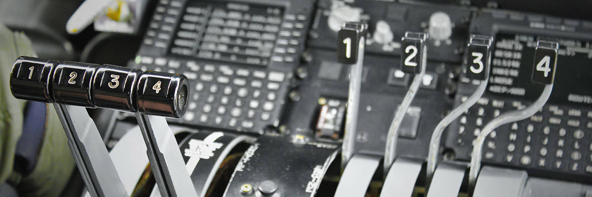 Military aircraft controls