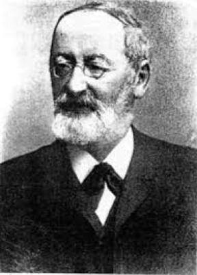 Immagine del botnico tedesco Ferdinand Julius Cohn, considerato tra i padri fondatori della moderna batteriologia.
