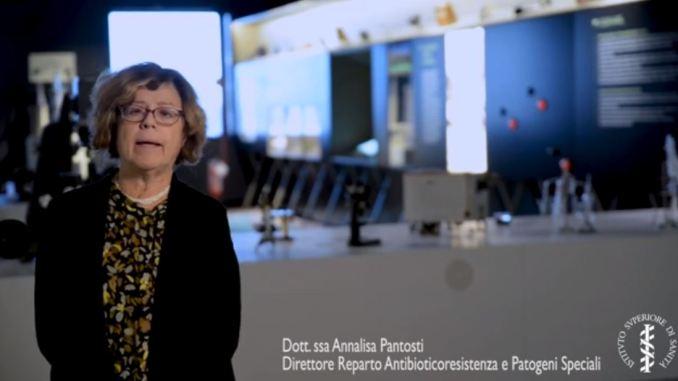 Annalisa Pantosti antibiotico-resistenza