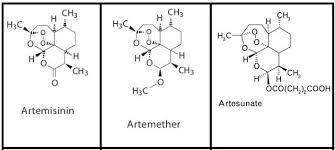 Artemisinina e derivati sintetici