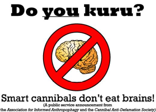 Figura 1- I Cannibali intelligenti non mangiano i cervelli!