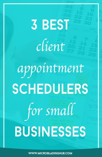 3 best scheduler systems for small businesses