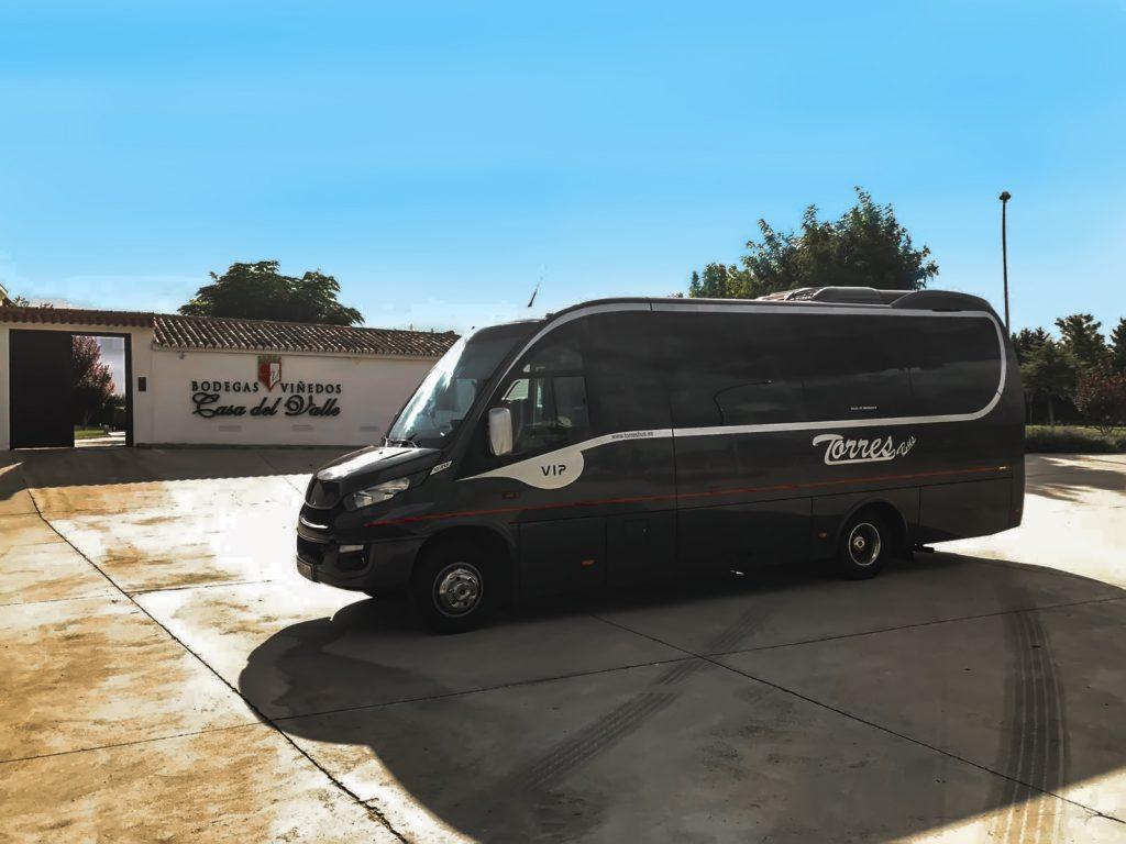 microbuses de alquiler en madrid empresa de transporte