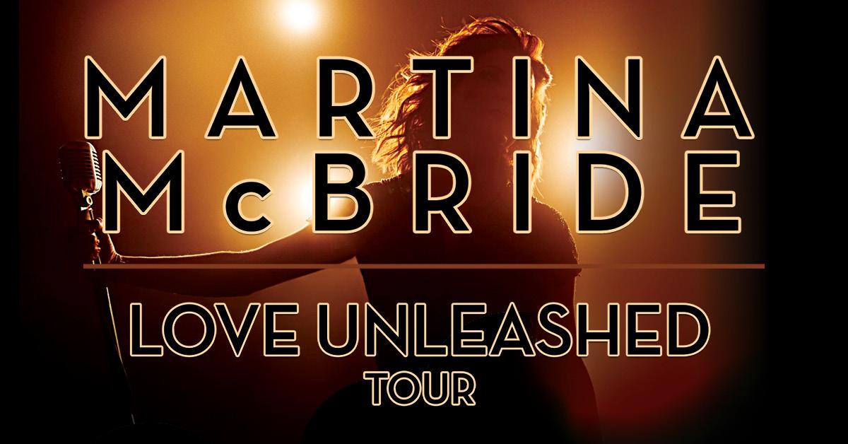 Image result for martina mcbride love unleashed tour
