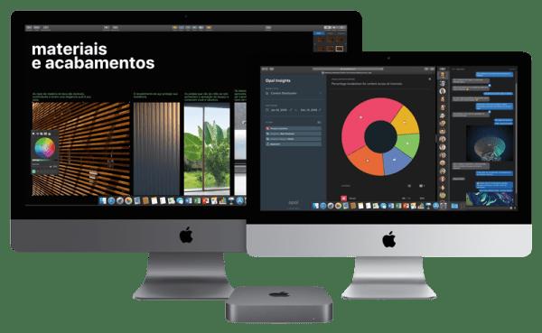 iMac Pro, Mac mini e iMac