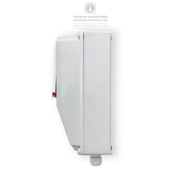 Quadro Digital para Furo - Sem Sondas, Gama Premium - Schneider - Vista Lateral
