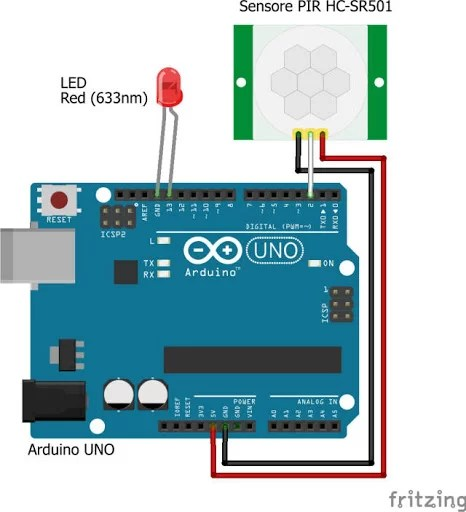 Arduino HC-SR501