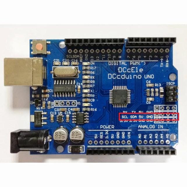 BMP180 altiméter és hőmérő - Arduino UNO
