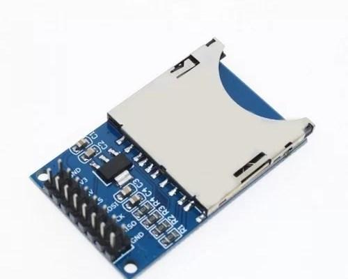 Arduino SD kártya olvasó