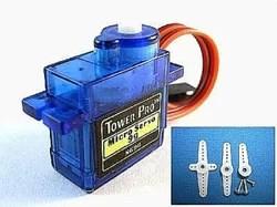 SG90 micro servo vezérlése