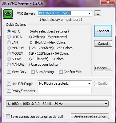 X11VNC szerver telepítése - Ultra VNC