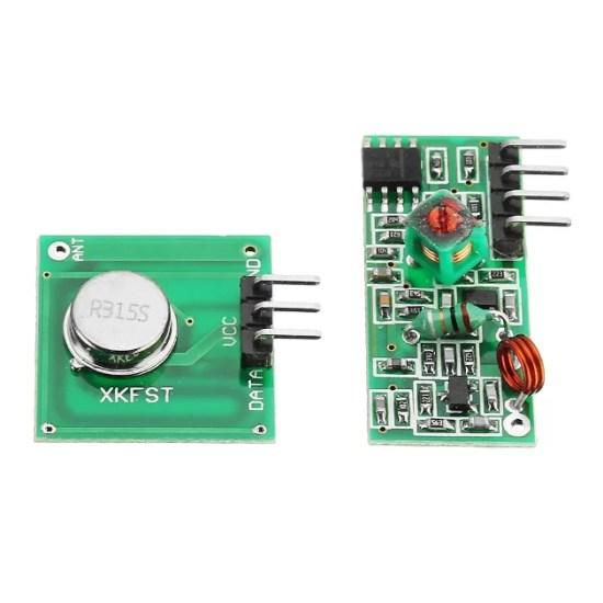 315 MHz-es Adó-Vevő modul
