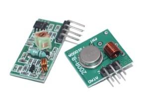 433 MHz-es adó-vevő modul