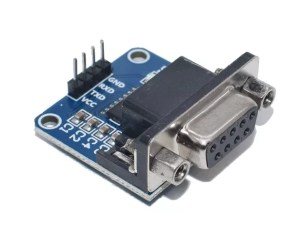 MAX3232 - RS232 - TTL konverter