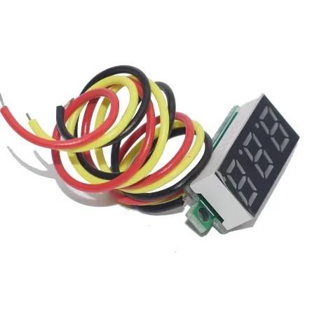 """0.28"""" beépíthető feszültségmérő"""