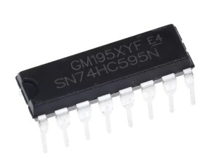 SN74HC595N - 8 Bites Shift register