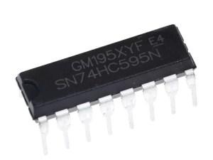 SN74HC595N - 8 Bites Shift register