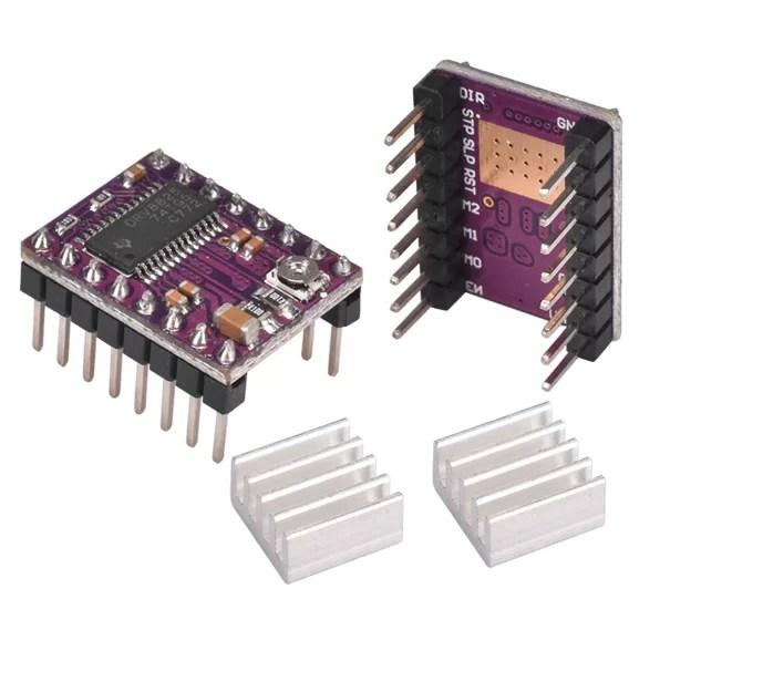 DRV8825 léptető motor vezérlő