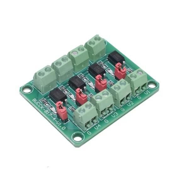 PC817 - 4 csatornás optocsatoló