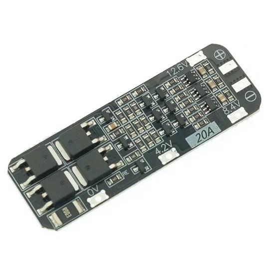 Li-ion töltésvezérlő - BMS 3S 20A - Enhanced