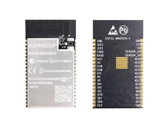 ESP32-WROOVER-B - Wifi BT mikrokontroller