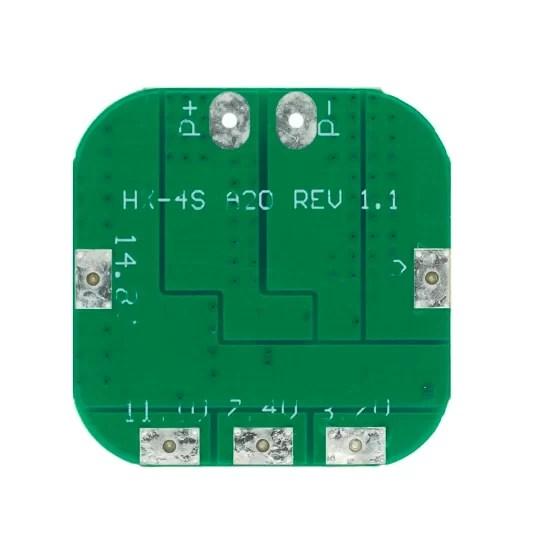 Li-ion töltésvezérlő - BMS 4S 20A - Enhanced