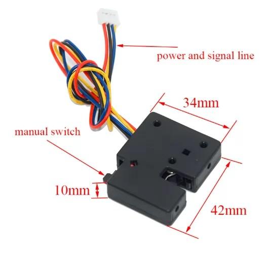 Mini elektromos zár - 5V