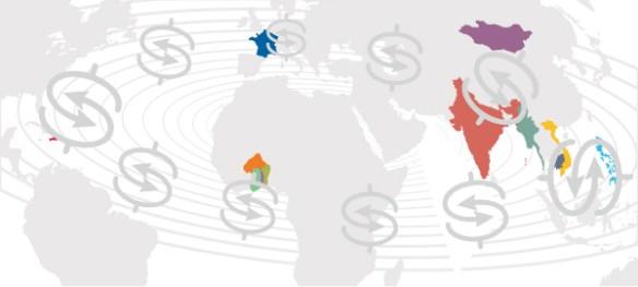 Entrepreneurs du Monde Carte