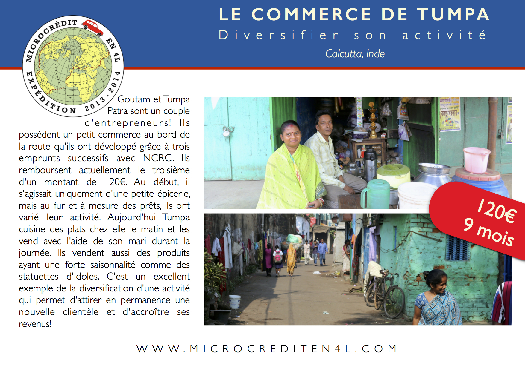 Le commerce de Tumpa