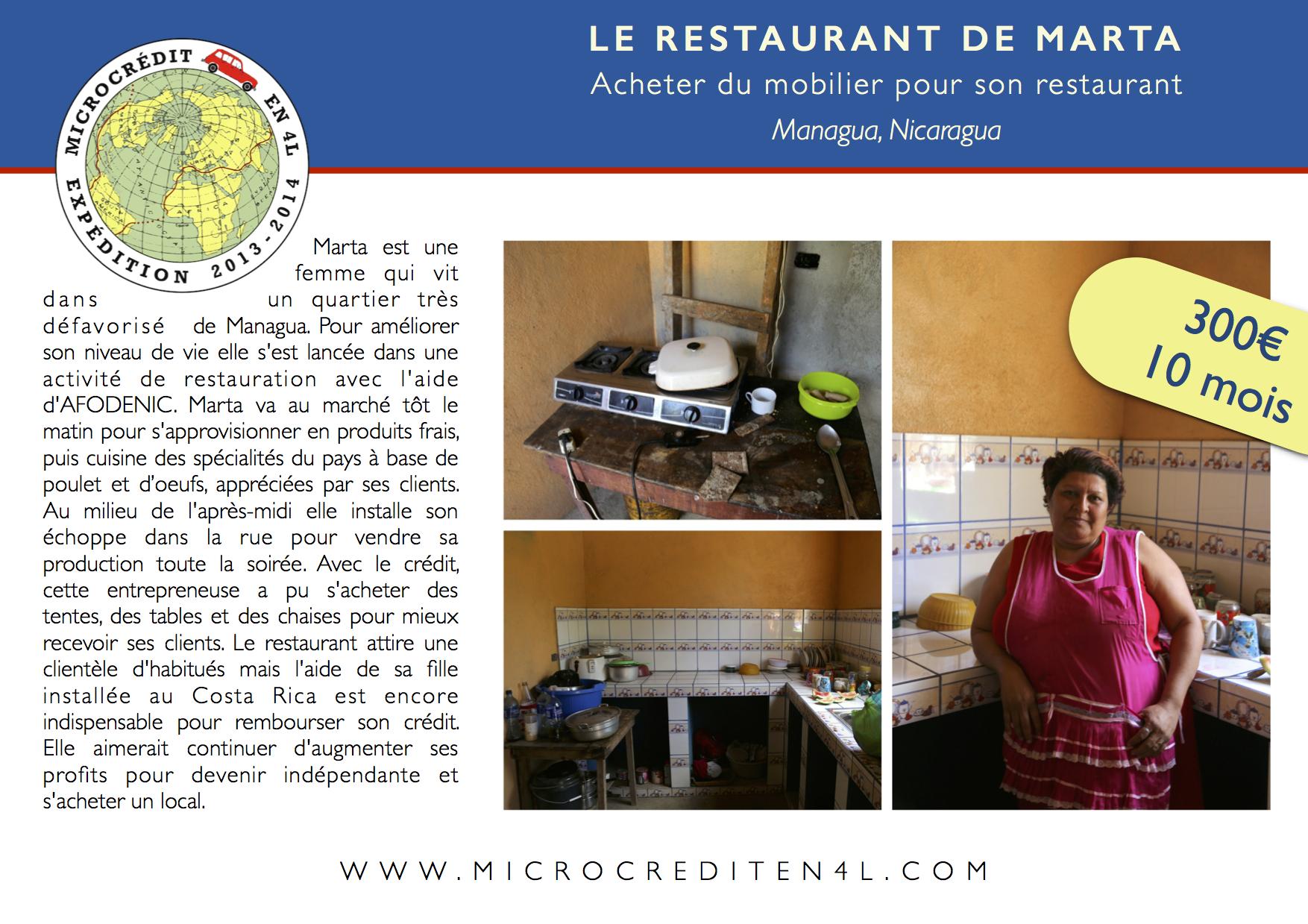 Le Restaurant de Marta
