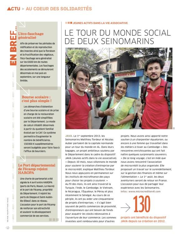 Magazine Seine Maritime - Juin 2014