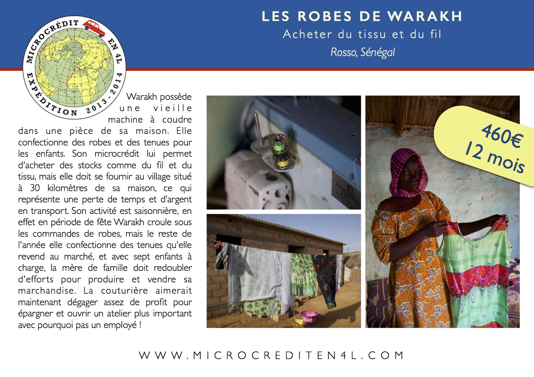 Les Robes de Warakh