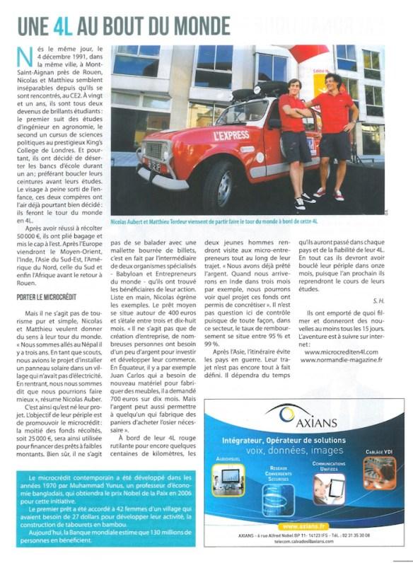 Normandie Magazine JPEG