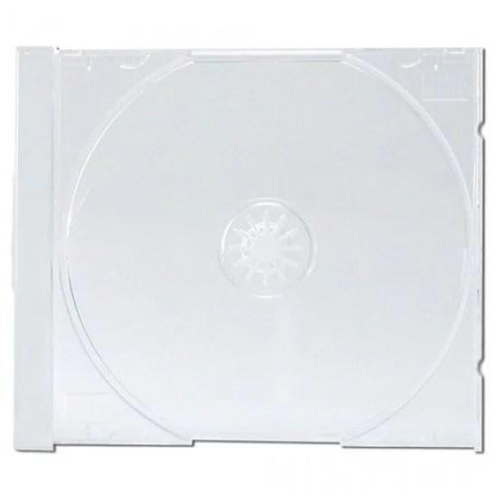 plateau tray transparent pour boitier cd 100p