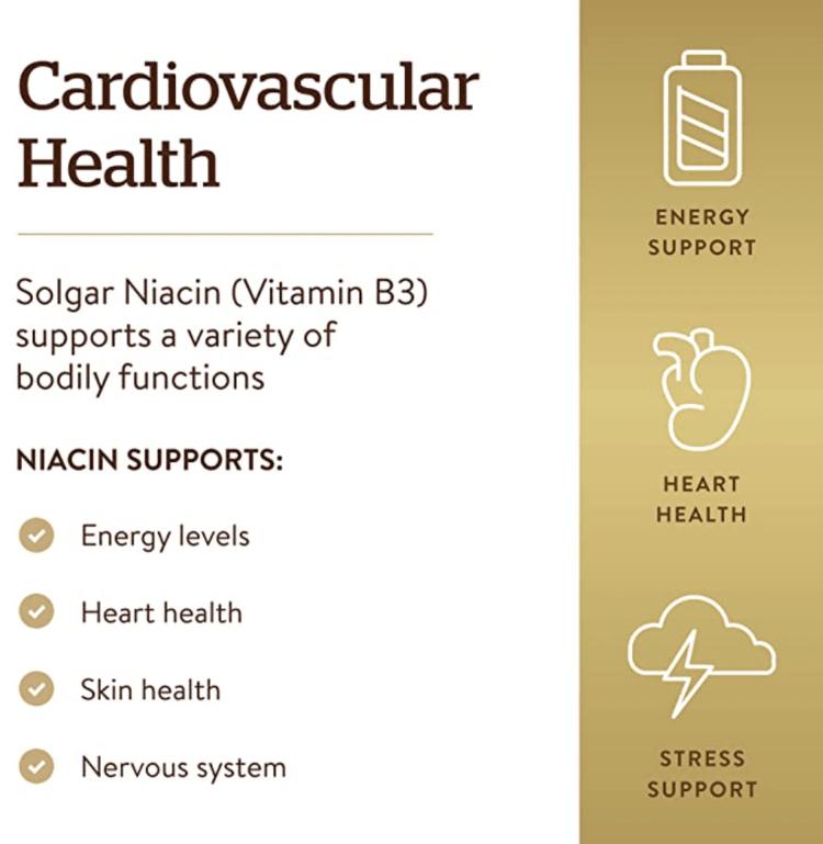 Niacin Cardiovascular Health