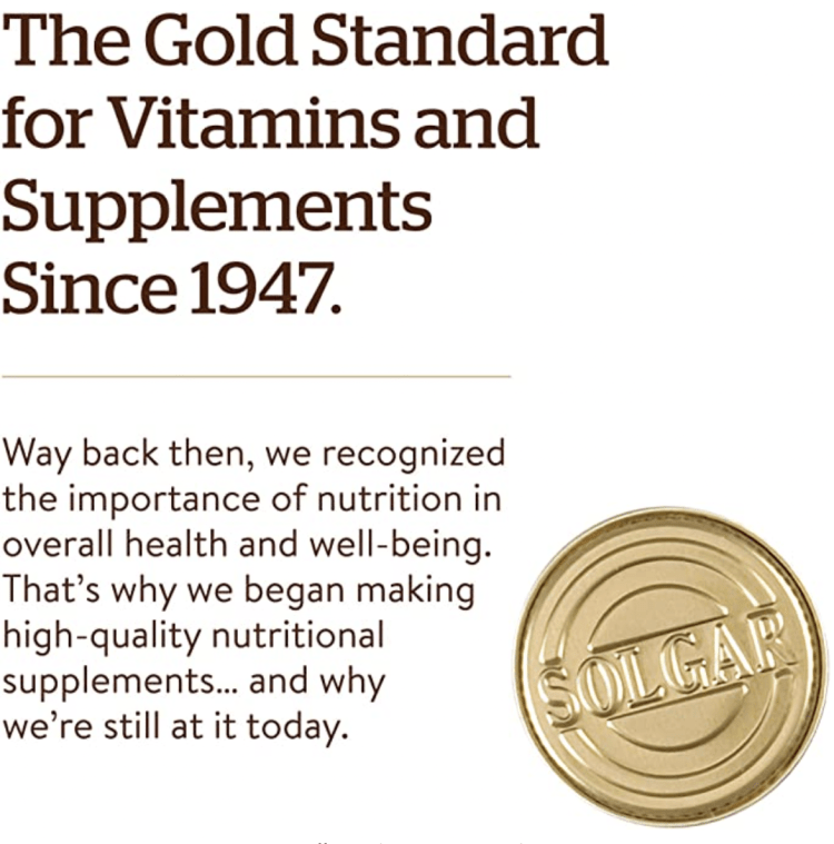 Solgar Gold Standard