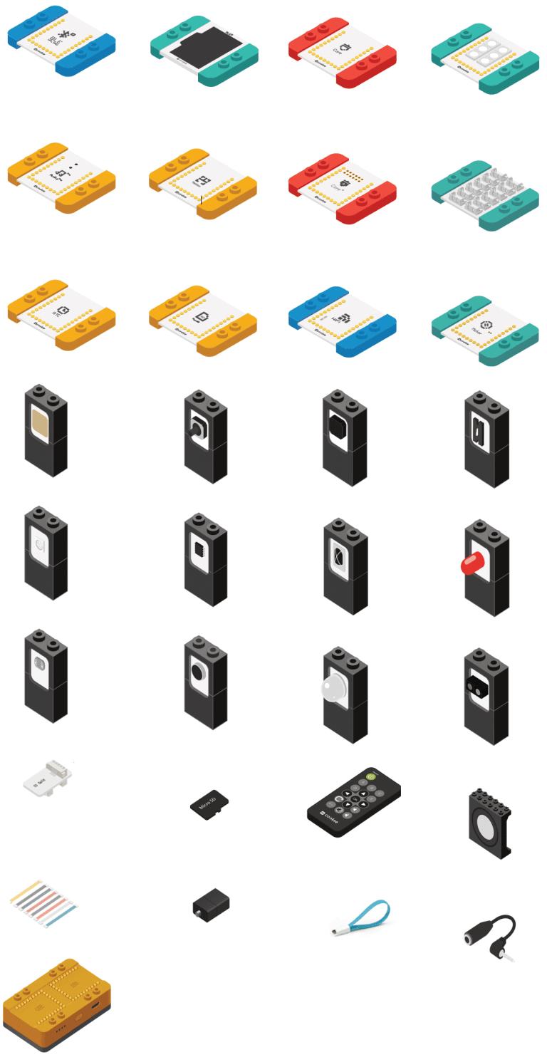 mCookie 302 Expert Kit - Microduino