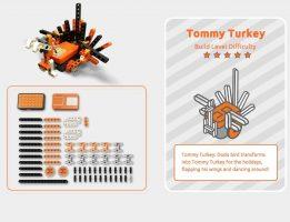 Build Tommy Turkey!