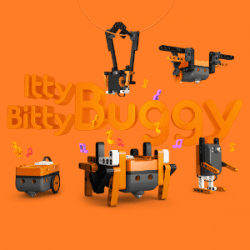 Itty Bitty Buggy box showing all the creatures you can make.