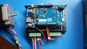 Controlling a high torque stepper Motor with Arduino