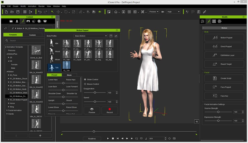 3d Character Animation Software