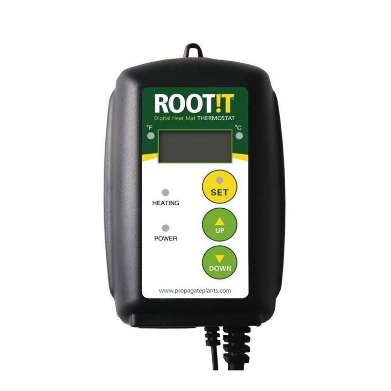 root t thermostat pour serre et tapis chauffant et ecoheat max 1000 w