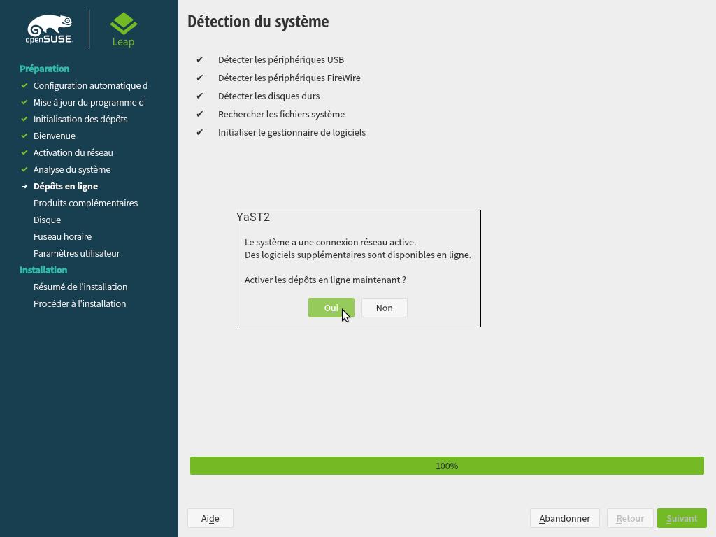 Installation d'un poste de travail OpenSUSE Leap 15 1 KDE