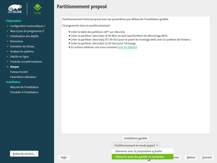 OpenSUSE Leap 15.1
