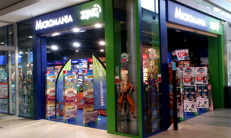 magasin jeux video chatellerault
